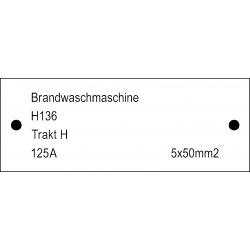 Musterbild-Schilder Typ 121.002 - 40x15 mm